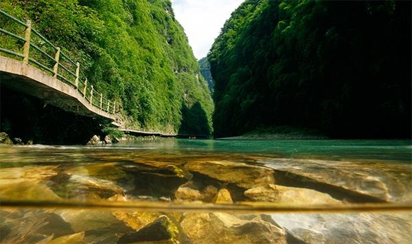 彭水:阿依河景区