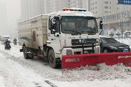 山东济宁迎2019年首场降雪