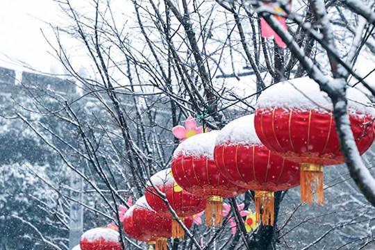 南京迎2019第一场雪