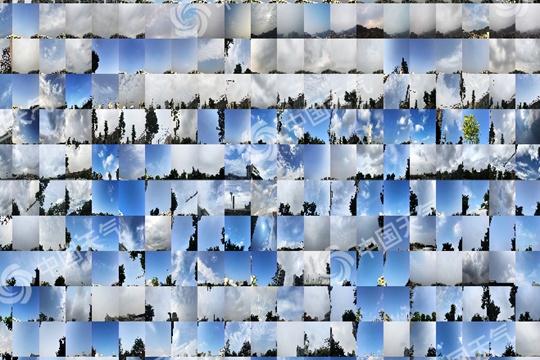 15城年度蓝天拼图出炉 北京重庆蓝天变多