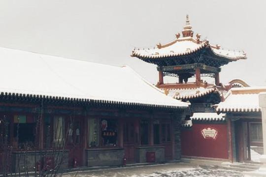 古刹飞新雪 呼和浩特重回绥远城