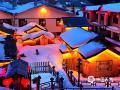 3月2日,正月未过。位于黑龙江省海林市长汀镇的中国雪乡依旧挂着大红灯笼,矮矮的篱笆将茅草屋围起,厚厚白雪下,像极了童话故事中七个小矮人的世外居所。(文/邬巧琛 图/黄玲霞)