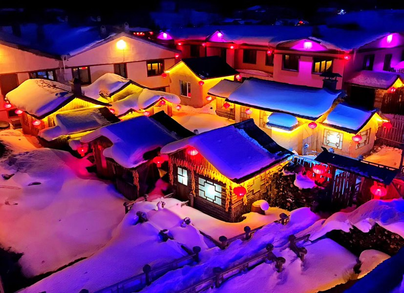 黑龙江:冰雪中的童话世界