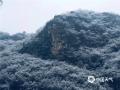 今天(9日)早上,北京门头沟、怀柔、房山等地出现四月飞雪,一派银装素裹的景象,?#36335;?#31359;?#20132;?#20102;冬季。(王威然 摄)