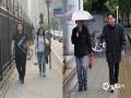 8日武汉最高气温达33.4℃,恍如夏日。而9日,武汉天气却大变脸,出现了雷雨、大风以及强对流天气。9日15时气温仅有10.2℃,气温狂降23℃多!图为武汉光谷两天内人们的不同穿着。(李梦蓉 付郁 范进进/图)
