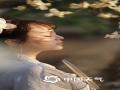 美人如玉,云裳如画,东君却抱枝头娇花,落英纷下。婉转顾春情,只道,花为奴家羞煞。(图/张晗熙)