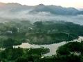 安徽六安茶谷景色美