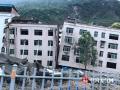 """2008年5月12日,汶川大地震给神州大地和华夏儿女带来了巨大伤痛,同时也激发起全国人民志愿奉献、抗震救灾的群情激?#28023;?#24320;启了中国公益的新时代。图为2018年,中国天气网记者亲临""""512""""汶川特大地震遗址现场。(摄影/崔丽丽)"""
