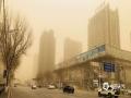 2019年4月4日,辽宁省会沈阳出现沙尘天气,能见度不足1000米。(图/卜宪云)