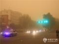 2015年4月26日至27日,新疆北疆大部和南疆西部的部分地区出现了5级左右的偏西风和不同程度的沙尘天气,石河子、昌吉、乌鲁木齐一线和南疆的和田、喀什出现沙尘暴,最小能见度不足1千米。