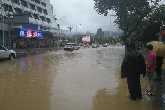 福建三明降水量破历史纪录 城区内涝严重
