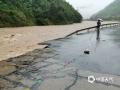 浙江入梅以来受持续强降雨影响,17日08时至21日08时,全省平均雨量84毫米,共有42个县(市、区)超过100毫米,其中长兴199毫米、桐庐192毫米、南浔177毫米。6月19日杭州桐庐多地出现不同程度的滑坡、落石、塌方、泥石流等灾害。图为桐庐强降雨引发洪涝。(图/浙江省气象安全技术中心)