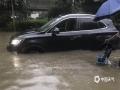 19日起,湖北出现入梅以来第二次强降雨过程。昨天,湖北全省有7县市雨量在100毫米以上,其中孝感汉川出现特大暴雨,雨量达256毫米。武汉出现大暴雨,雨量为170.6毫米。猛烈降雨导致湖北多地出现内涝洪水等灾害。图为武汉街头积水严重。(图/唐悦)