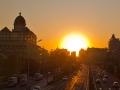 日出东方:北京的清晨居然这么美