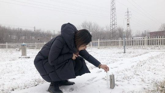 天津迎来2020年首场雪 看气象人的看雪方式