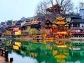 湘西凤凰:自然色彩扮靓冬日古城
