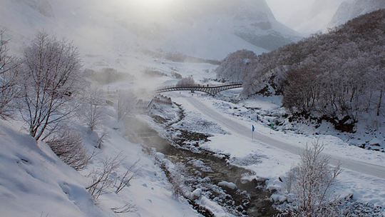冰雪奇缘 一组图带你领略白山黑水之美