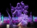 视觉盛宴!哈尔滨全国专业冰雕比赛作品精彩纷呈