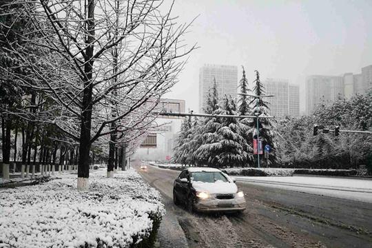 瑞雪兆丰年!贵阳各地迎降雪