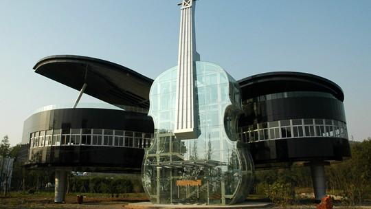 奇思妙想 盘点世界上那些奇特建筑