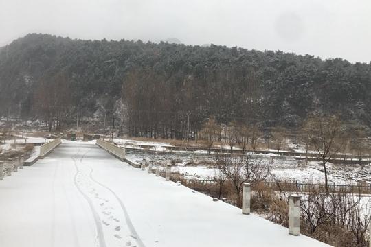 天津薊州區迎降雪
