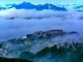 福州鼓山云海奇观 云雾缭绕如仙境