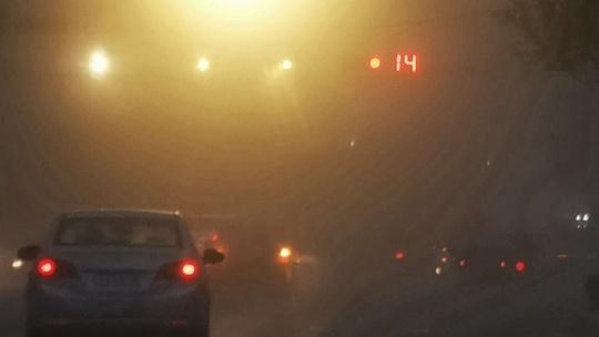新疆喀什叶城县遭遇强沙尘暴