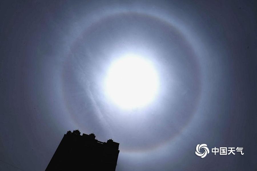 惠灵顿天气_超震撼!哈尔滨日晕美轮美奂-图片频道-中国天气网