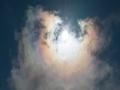 日晕、七彩祥云、环天顶弧 贵州天空接连上演天象奇观