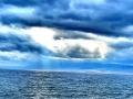 新疆博乐雨后碧空如洗,赛里木湖绮丽多姿
