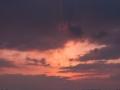 安徽芜湖雨后放晴 旎旖霞光如画境