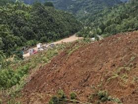 贵州松桃县发生山体滑坡 初步判定7人失联