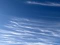 北京延庆:天空如洗 卷云浮动