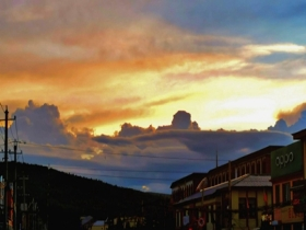 内蒙古兴安盟阿尔山云卷云舒 美如油画