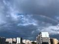 雙彩虹高掛!北京連續四天現彩虹