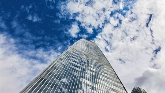 藍天為幕白云作畫 這樣的北京真的好美