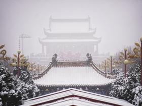 雪后古都 恍如穿越般的美景
