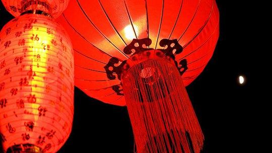 冰城哈爾濱燈籠高掛 紅紅火火迎新年