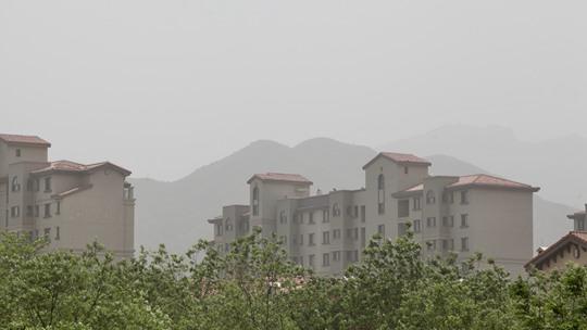 沙尘来袭注意防护!北京陷入严重污染