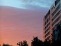 今晨北京出现绝美粉色朝霞 你看到了吗?