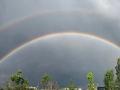 太美了!北京天空现迷人双彩虹