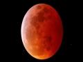 """超級月亮""""邂逅""""月全食 高清美圖帶你回看震撼瞬間"""