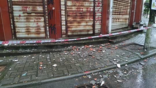 直击四川泸县地震现场 部分房屋受损