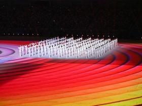2021第十四届全运会开幕式 现场表演精彩纷呈