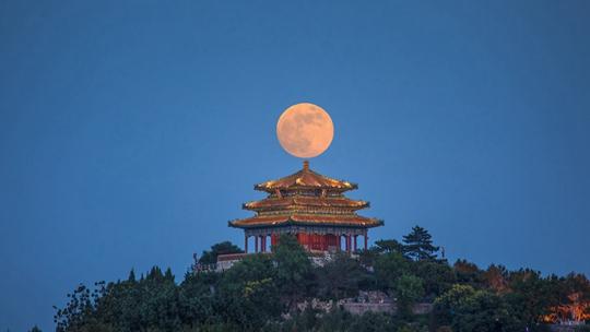 同一轮明月不一样的美 盘点北京赏月地