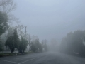 北京昌平延庆部分山区大雾弥漫 能见度较低