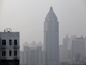 注意防护!今晨北京大部地区能见度较差 出现轻度空气污染