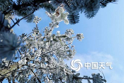 福建武夷山麻粟雪景