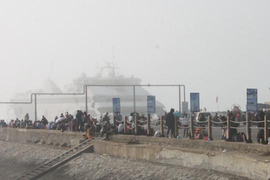 海雾致涠洲岛航班延迟