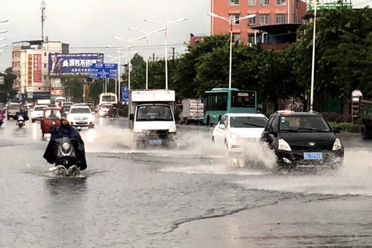 桂林市遭遇强降雨袭击